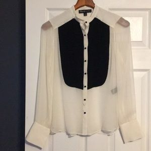 Elizabeth and James xs long sleeve blouse